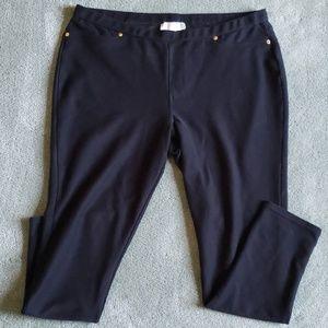 EUC Michael Kors Sz XL black leggings